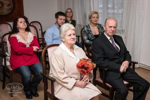 Blahopřejeme keZlaté svatbě - manželé Klátovi